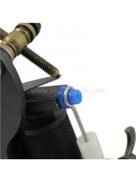 T-shaped Blå Soft silikon Tatovering Pin Pute 100PCS