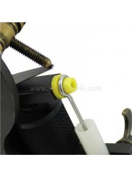 T-shaped Gul Soft silikon Tatovering Pin Pute 100PCS