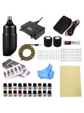 Tatoveringsmaskin Kit En Kort Penn XA006