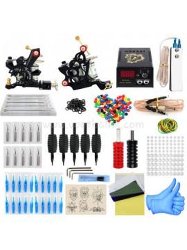Tatoveringsmaskin Kit To Svart Machines