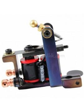 Tatoveringsmaskin N102 10 Layer Coil Jern Shader Blå L