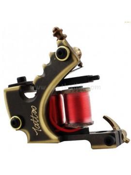 Tatoveringsmaskin N103 10 Layer Coil Bronse Liner Bokstaver