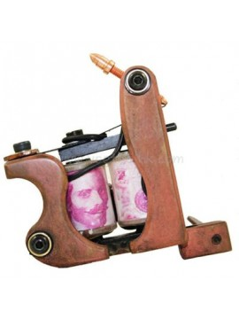 Tatoveringsmaskin N103 10 Layer Coil Bronse Shader Fugl
