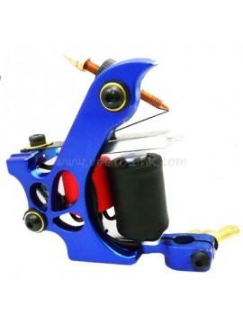 Tatoveringsmaskin N110 10 Layer Coil Farge Aluminum Shader Miste Blå