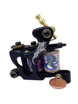 Tatoveringsmaskin N120 10 Layer Coil Bronse Liner Drage