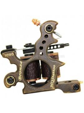 Tatoveringsmaskin N120 10 Layer Coil Bronse Shader 1080