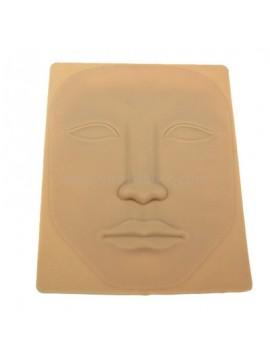 Tatovering silikon Øv hud 3D Face 5PCS