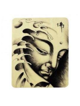 Tatovering silikon Øv hud Buddha 10PCS
