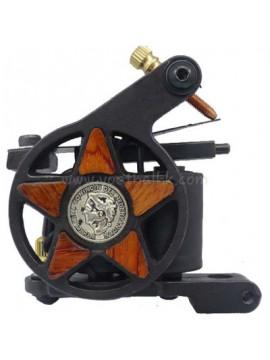 Tatoveringsmaskin N101 10 Layer Coil Jern Shader Five Stjerne
