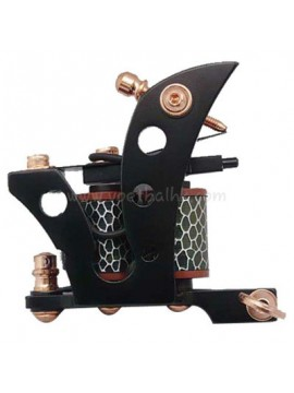 Tatoveringsmaskin N101 10 Layer Coil Jern Shader Flagg