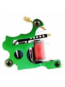 Tatoveringsmaskin N102 10 Layer Coil Farge Jern Shader Grønn