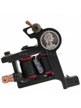 Tatoveringsmaskin N102 10 Layer Coil Jern Liner Coin