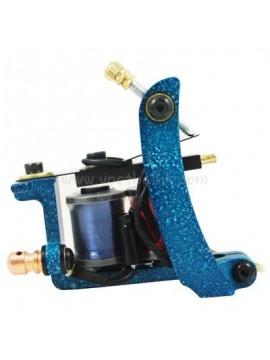 Tatoveringsmaskin N102 10 Layer Coil Jern Shader Blå