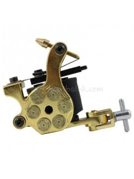 Tatoveringsmaskin N105 10 Layer Coil Jern Shader Bullet Gull