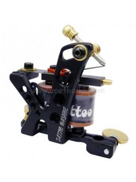 Tatoveringsmaskin N106 10 Layer Coil Jern Shader Hull