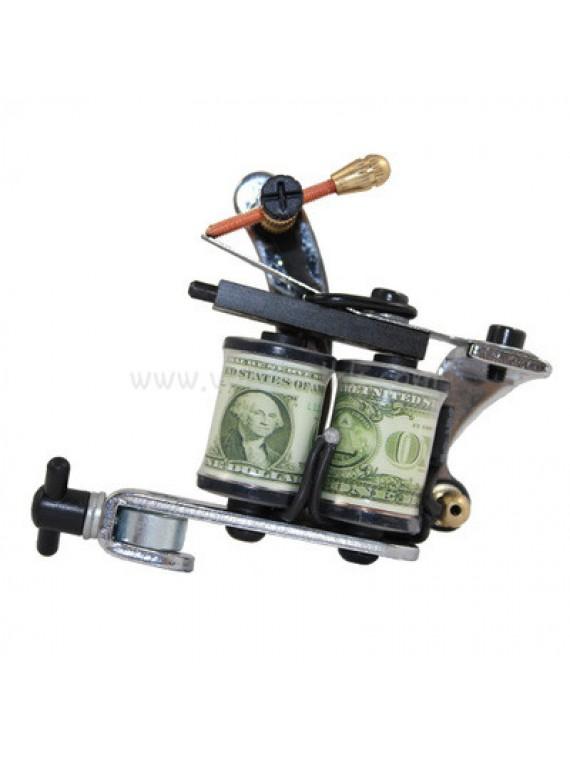 Tatoveringsmaskin N108 8 Layer Coil Nybegynner Shader Dollar