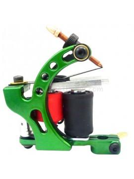 Tatoveringsmaskin N110 10 Layer Coil Farge Aluminum Shader Fugl Grønn