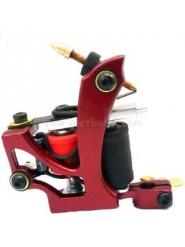 Tatoveringsmaskin N110 10 Layer Coil Farge Aluminum Shader Flying Rød