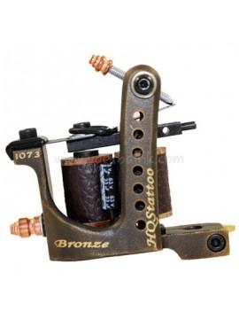 Tatoveringsmaskin N120 10 Layer Coil Bronse Shader 1073