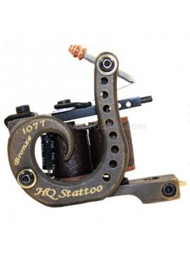 Tatoveringsmaskin N120 10 Layer Coil Bronse Shader 1077 HQ