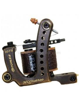 Tatoveringsmaskin N120 10 Layer Coil Bronse Shader 1078