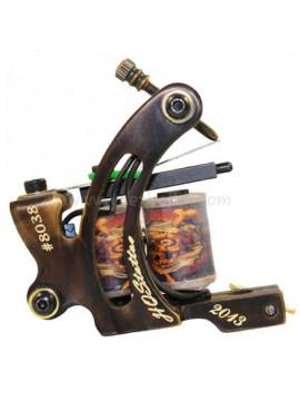 Tattoo Maskin N130 10 Layer Coil Bronse Shader Nummer 8038